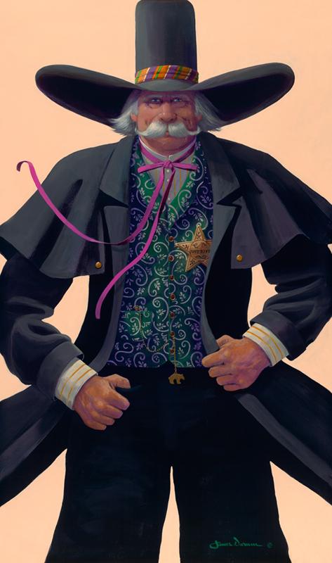 James Darum Art - The Sheriff
