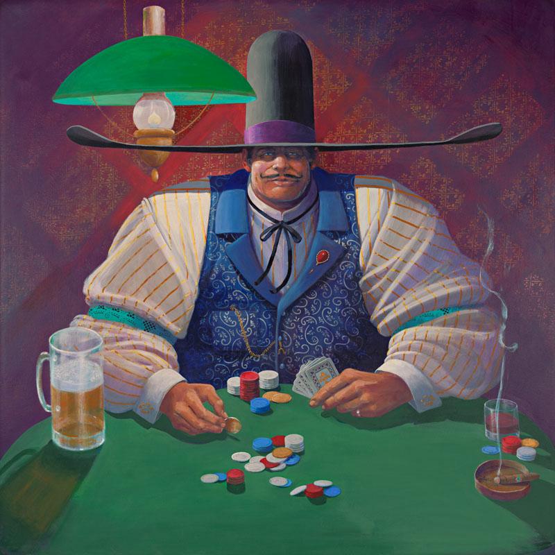 James Darum Art - The Gambler